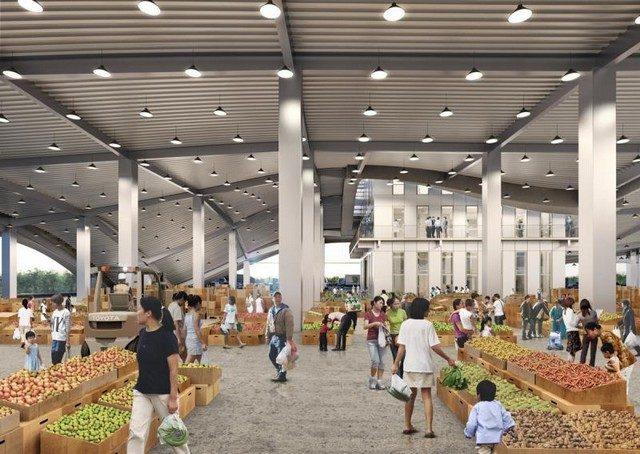 台南新化果菜市場估計2020年完工|台南建商連建建設