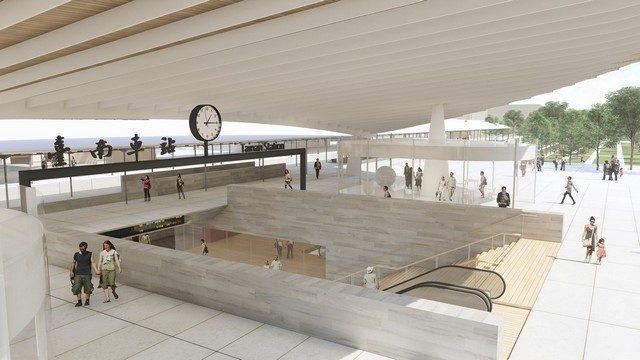 台南新火車站2022年完工!鳳凰樹為意象,保留舊站遺跡細節|台南建商連建建設