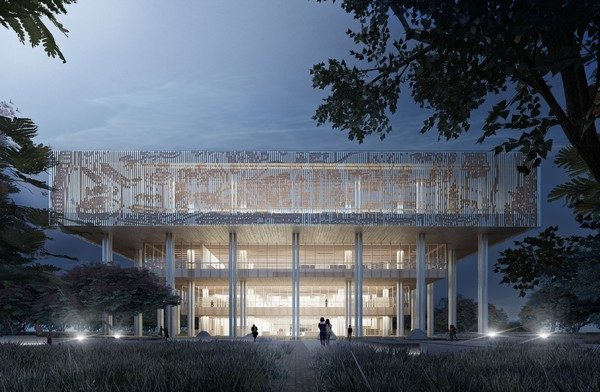 永康區台南市立圖書館總館|台南建商連建建設