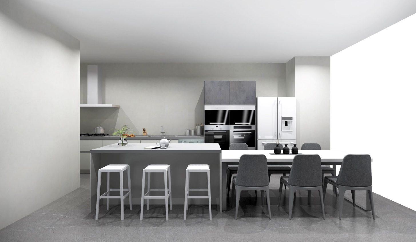 廚房-含中島
