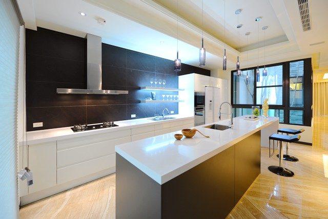 台南北區建案大可居2開放式廚房|台南建商連建建設