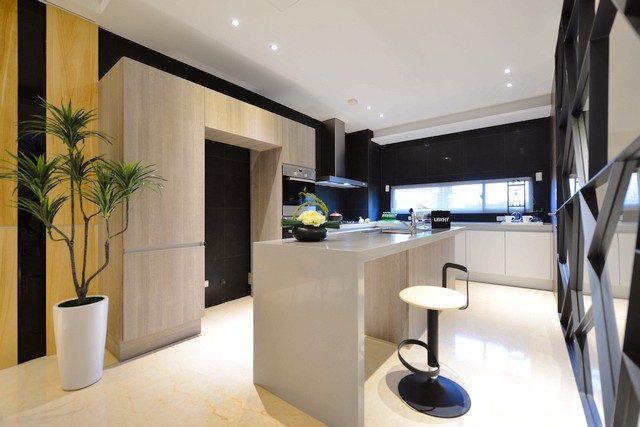 台南北區建案《春上光樹》開放式廚房|台南建商連建建設