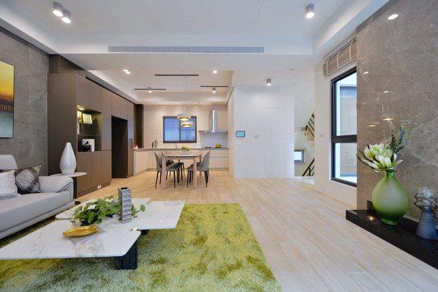 台南安南區九份子建案連建拾穗開放式廚房|台南建商連建建設