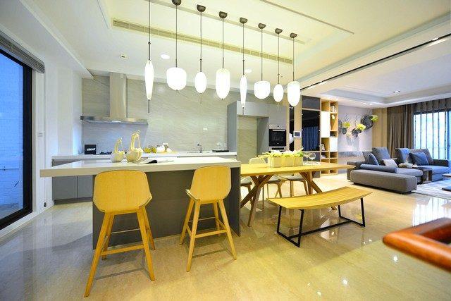 台南永康區建案連建永強開放式廚房|台南建商連建建設