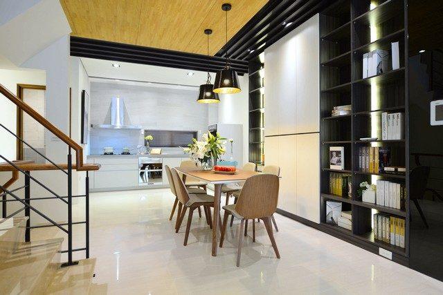 台南安平區建案連建金華的開放式廚房 | 台南建商連建建設