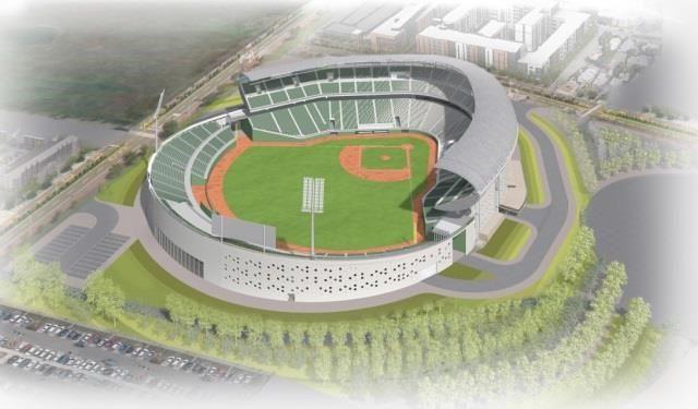 台南國際棒球訓練中心坐落安南區,預計2023年完工|連建建設機構
