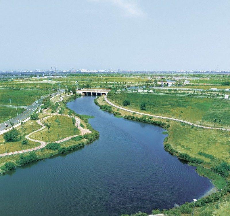 九份子河畔圖2